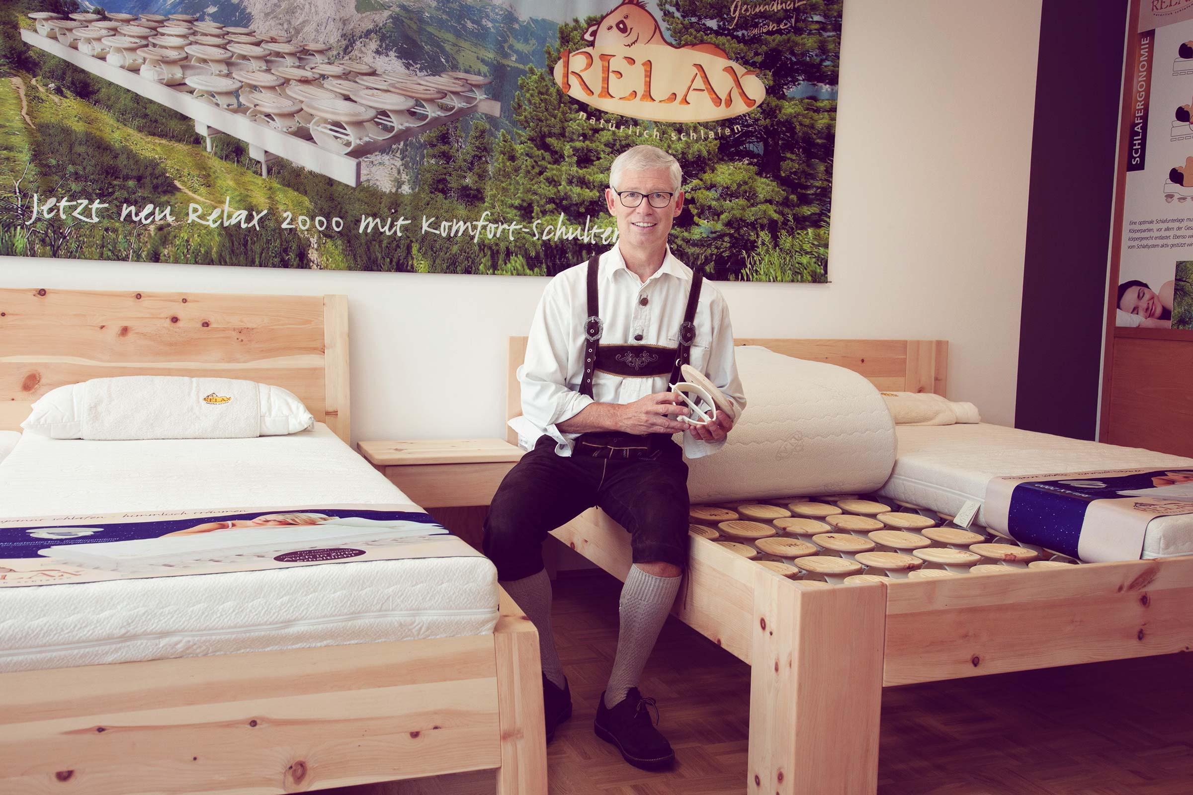 Ihr Zirbenholzbett von Günter Steffner